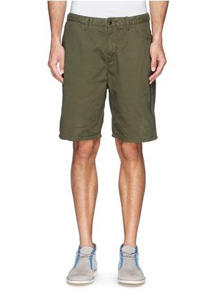 Main View - Click To Enlarge - Scotch & Soda - Pima cotton chino shorts