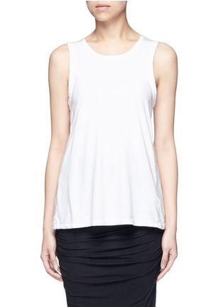 Main View - Click To Enlarge - James Perse - Wrap back cotton tank top