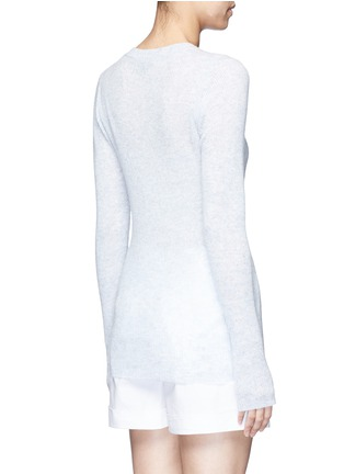 Back View - Click To Enlarge - James Perse - Deep V-neck cashmere sweater