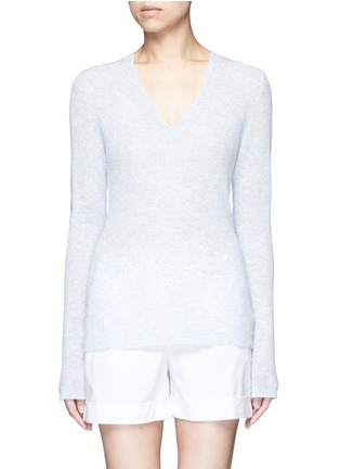 Main View - Click To Enlarge - James Perse - Deep V-neck cashmere sweater