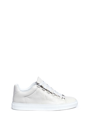 Main View - Click To Enlarge - Balenciaga - Lambskin leather low top sneakers