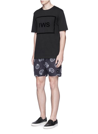 Figure View - Click To Enlarge - Insted We Smile - Logo block appliqué T-shirt