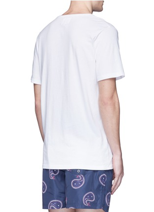 Back View - Click To Enlarge - Insted We Smile - 'Smile High Club' print T-shirt