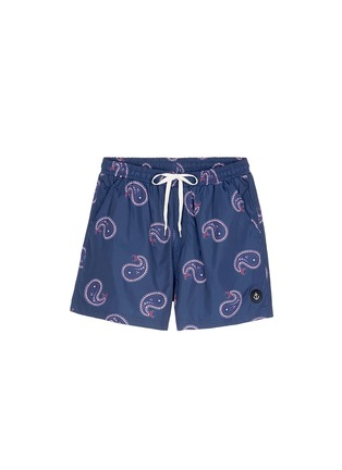 Main View - Click To Enlarge - Insted We Smile - Paisley print swim shorts