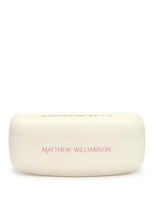 Detail View - Click To Enlarge - Matthew Williamson - Wire rim cat eye mirror sunglasses