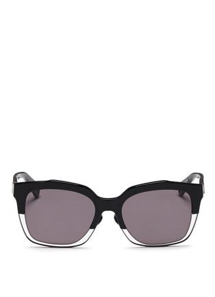 Main View - Click To Enlarge - Haze - 'Buzz' wire rim sunglasses