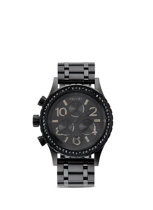Main View - Click To Enlarge - NIXON - '38-20 Chrono' Swarovski crystal watch