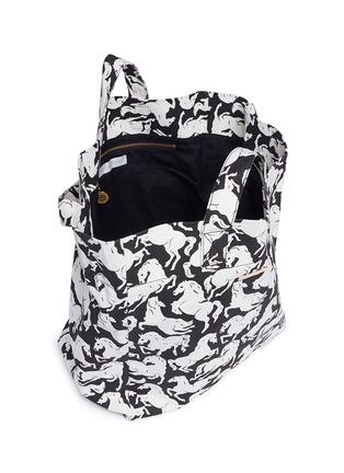 - STELLA MCCARTNEY - Horse print beach bag