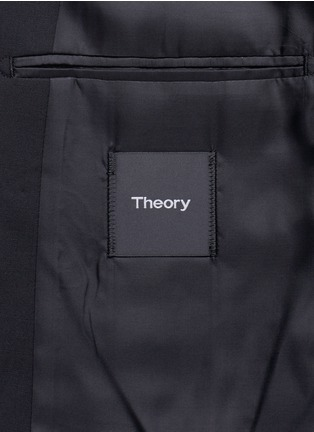 - Theory - 'Wellar' slim fit stretch wool blazer
