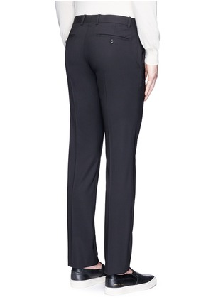 Back View - Click To Enlarge - Theory - 'Marlo' straight leg stretch wool pants