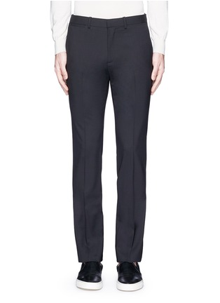 Main View - Click To Enlarge - Theory - 'Marlo' straight leg stretch wool pants