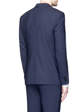 Back View - Click To Enlarge - Theory - 'Wellar' slim fit stretch wool blazer