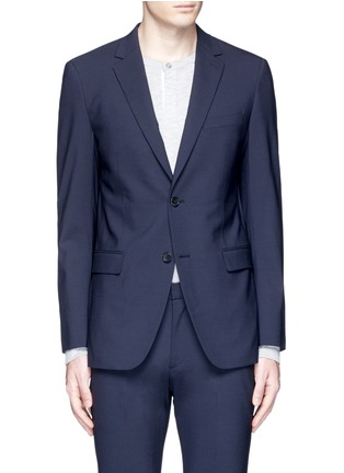 Main View - Click To Enlarge - Theory - 'Wellar' slim fit stretch wool blazer
