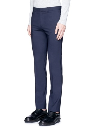 Front View - Click To Enlarge - Theory - 'Marlo' straight leg stretch wool pants