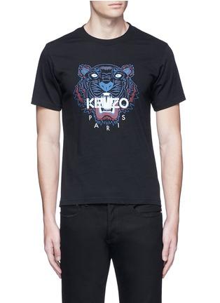 Main View - Click To Enlarge - KENZO - Tiger print T-shirt