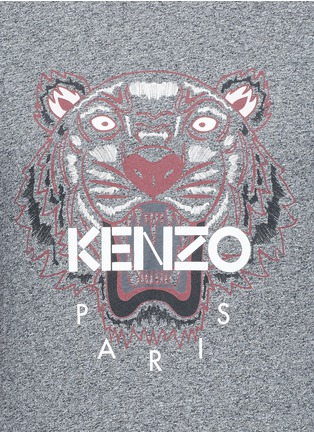 Detail View - Click To Enlarge - KENZO - Tiger print T-shirt