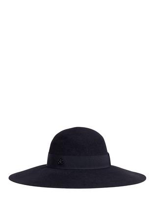 Figure View - Click To Enlarge - Maison Michel - 'Blanche' rabbit furfelt capeline hat