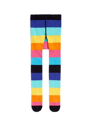 Main View - Click To Enlarge - Happy Socks - Stripe kids tights