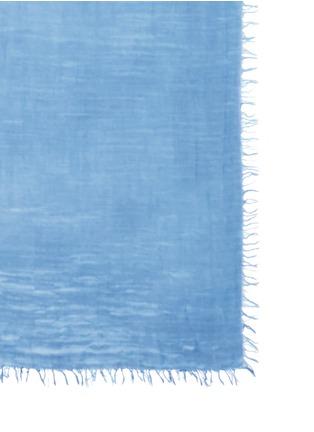 Detail View - Click To Enlarge - FRANCO FERRARI - 'Agam' cashmere-cotton scarf