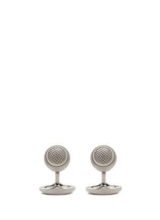 Main View - Click To Enlarge - Tateossian - Sphere titanium cufflinks