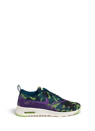 Main View - Click To Enlarge - Nike - 'Air Max Thea Jacquard Premium' camouflage graphic sneakers