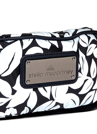 Detail View - Click To Enlarge - Adidas By Stella Mccartney - 'Run Bum' reflective floral print bag