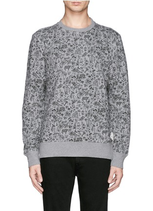 Main View - Click To Enlarge - PAUL SMITH - Forest animal print sweatshirt