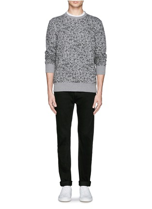 Figure View - Click To Enlarge - PAUL SMITH - Forest animal print sweatshirt