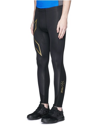 Front View - Click To Enlarge - 2Xu - 'Elite MCS' performance compression tights