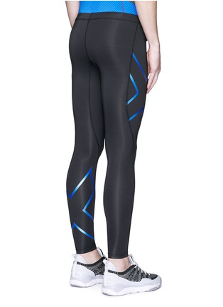 Back View - Click To Enlarge - 2Xu - 'Ice-X' performance compression tights