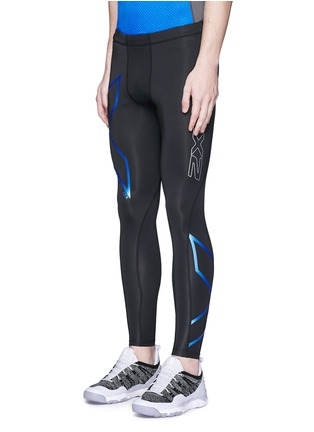 Front View - Click To Enlarge - 2XU - 'Ice-X' performance compression tights