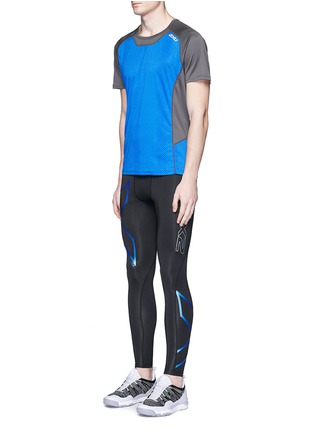 Figure View - Click To Enlarge - 2XU - 'Ice-X' performance compression tights