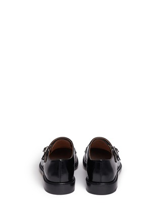 Back View - Click To Enlarge - CHURCH'S - 'Lora' bookbinder leather double monk strap shoes