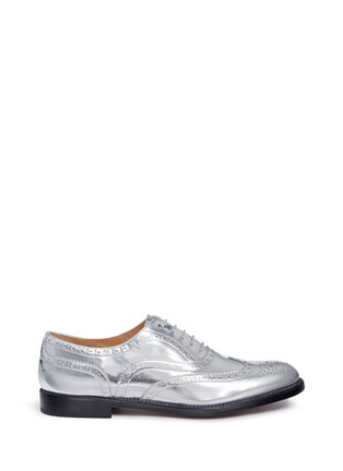 Main View - Click To Enlarge - Church ' S - 'Burwood W 6' mirror leather brogue oxfords