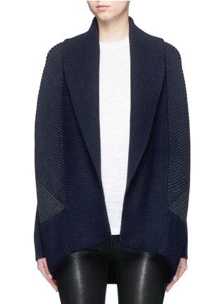Main View - Click To Enlarge - Vince - Wool-cashmere circle cardigan
