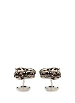 Main View - Click To Enlarge - Tateossian - T-rex skull cufflinks