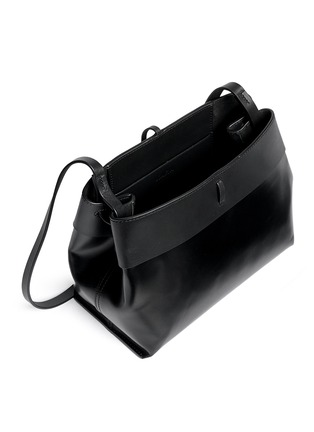 Detail View - Click To Enlarge - Kara - Tie top leather crossbody bag