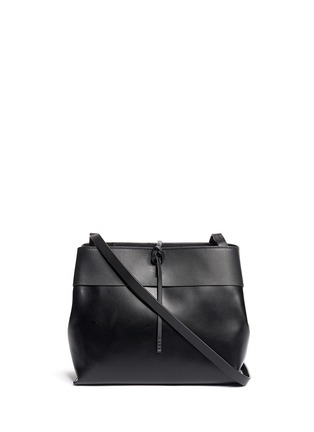 Main View - Click To Enlarge - Kara - Tie top leather crossbody bag