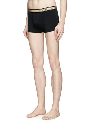 Front View - Click To Enlarge - - - Logo waist boxer briefs