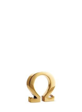 Main View - Click To Enlarge - LUNARES - Good Luck omega symbol sculpture