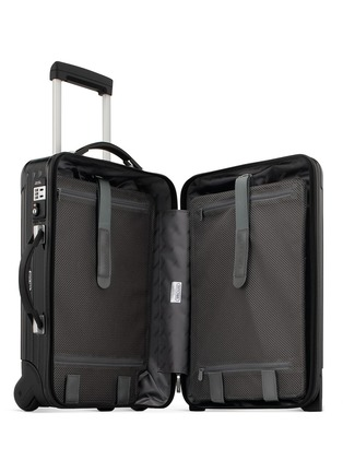 Detail View - Click To Enlarge - RIMOWA - Salsa Deluxe Cabin Trolley IATA (Black, 35-litre)