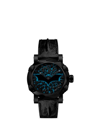 Figure View - Click To Enlarge - Romain Jerome - Batman DNA Gotham City PVD coated watch