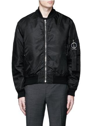Main View - Click To Enlarge - Givenchy - Bomber jacket