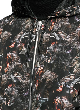 Detail View - Click To Enlarge - Givenchy - Monkey print windbreaker jacket
