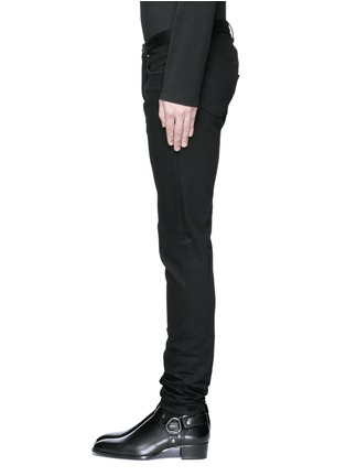 Detail View - Click To Enlarge - Givenchy - 'Rico' back strap skinny jeans
