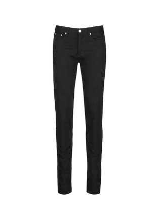 Main View - Click To Enlarge - Givenchy - 'Rico' back strap skinny jeans