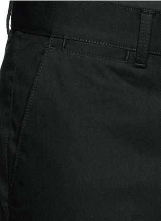 Detail View - Click To Enlarge - Givenchy - Slim fit cotton chinos