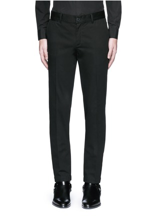 Main View - Click To Enlarge - Givenchy - Slim fit cotton chinos