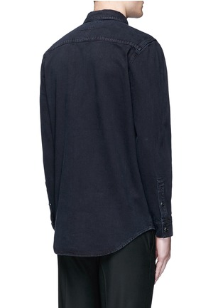 Back View - Click To Enlarge - Givenchy - Contrast front denim shirt