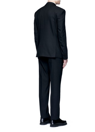 Back View - Click To Enlarge - GIVENCHY - Notched lapel wool suit